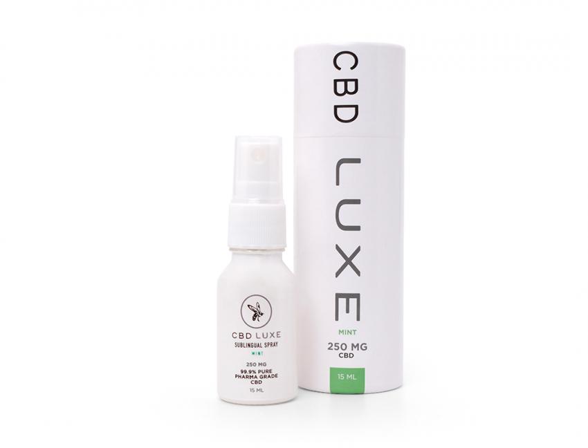 Organic CBD Mint Sublingual Spray - 250mg