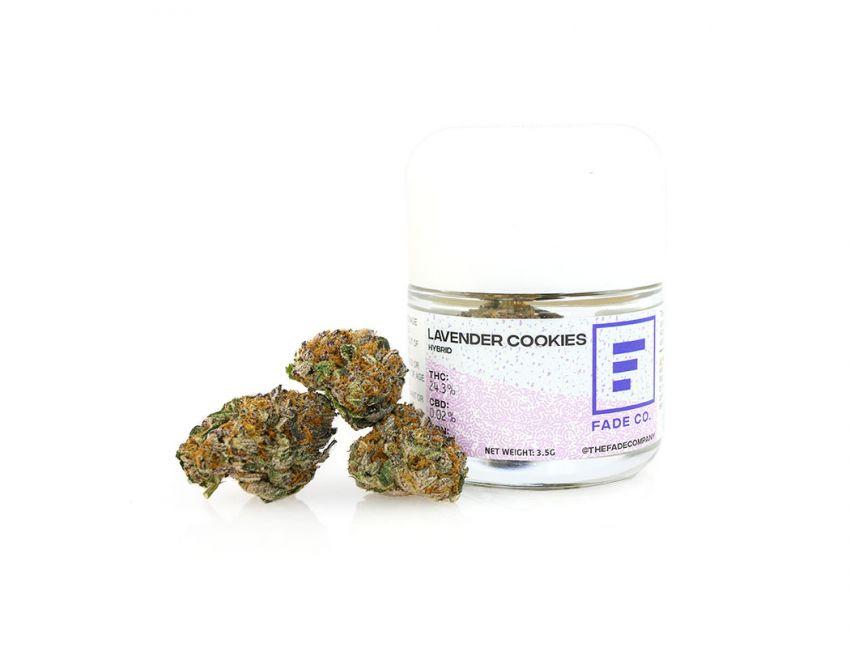 Lavender Cookies - 3.5g
