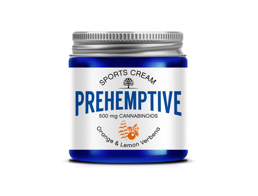 Orange & Lemon Verbena Sports Cream - 500mg